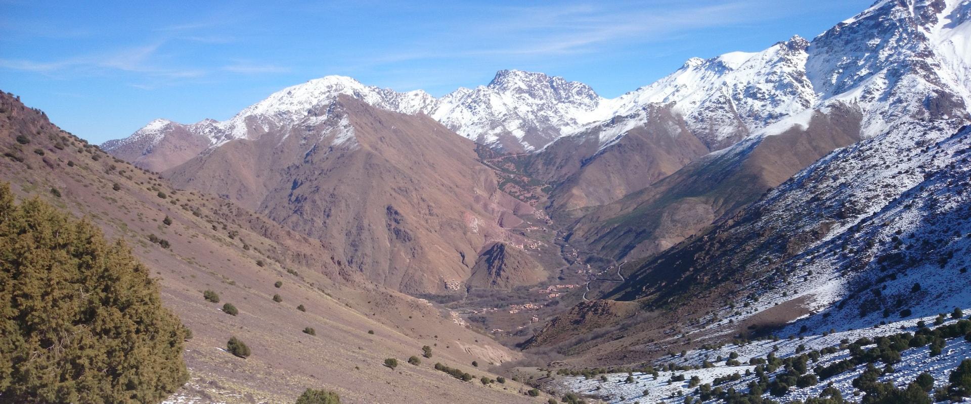 Ascension du mont Toubkal
