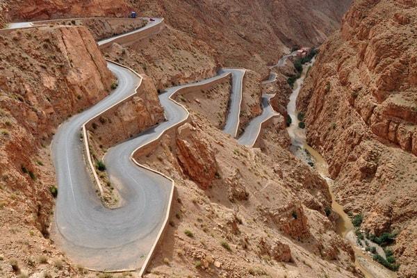Villes impériales, montagnes de l'Atlas et circuit du Sahara 02