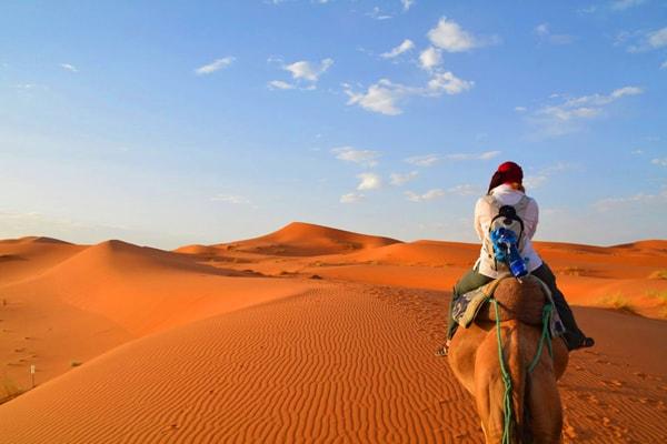 Découvrez les dunes du Merzouga 01