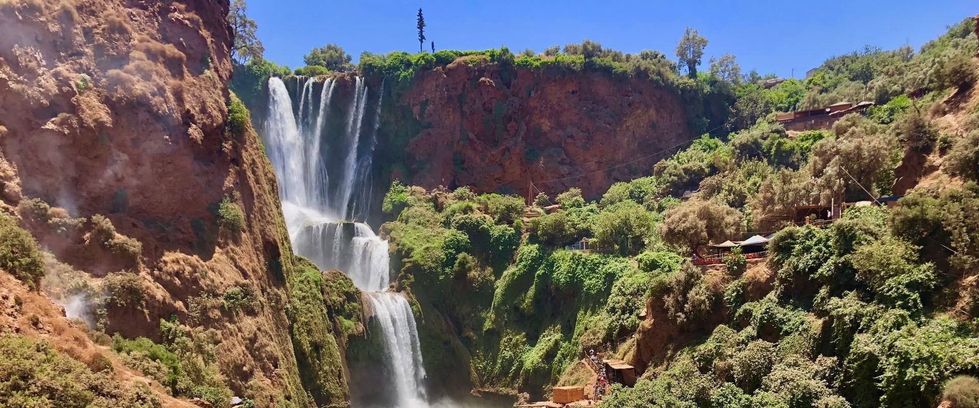 Voyages Expeditions Maroc - excursion 1 journee au cascade dozoud
