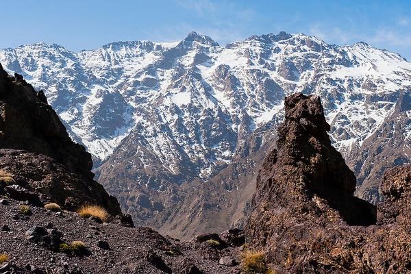 Les villages berberes et le haut Atlas 01