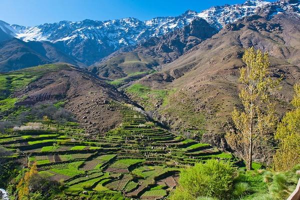 Les villages berberes et le haut Atlas 03