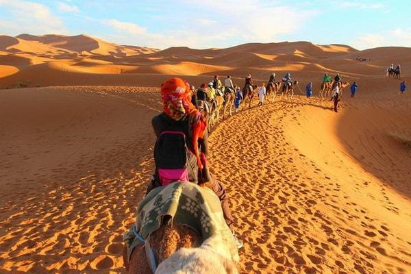 8 Jours de randonnée dans le désert 02