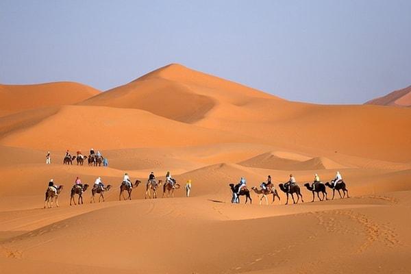 8 Jours de randonnée dans le désert 03
