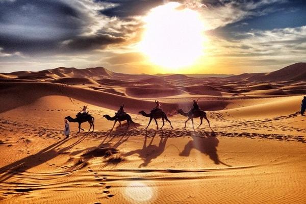 Reveillon du nouvel an dans le desert 02