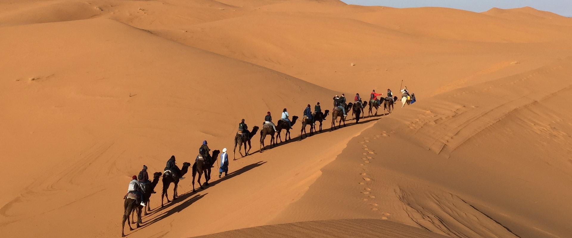 Voyages Expeditions Maroc - reveillon du nouvel an dans le desert