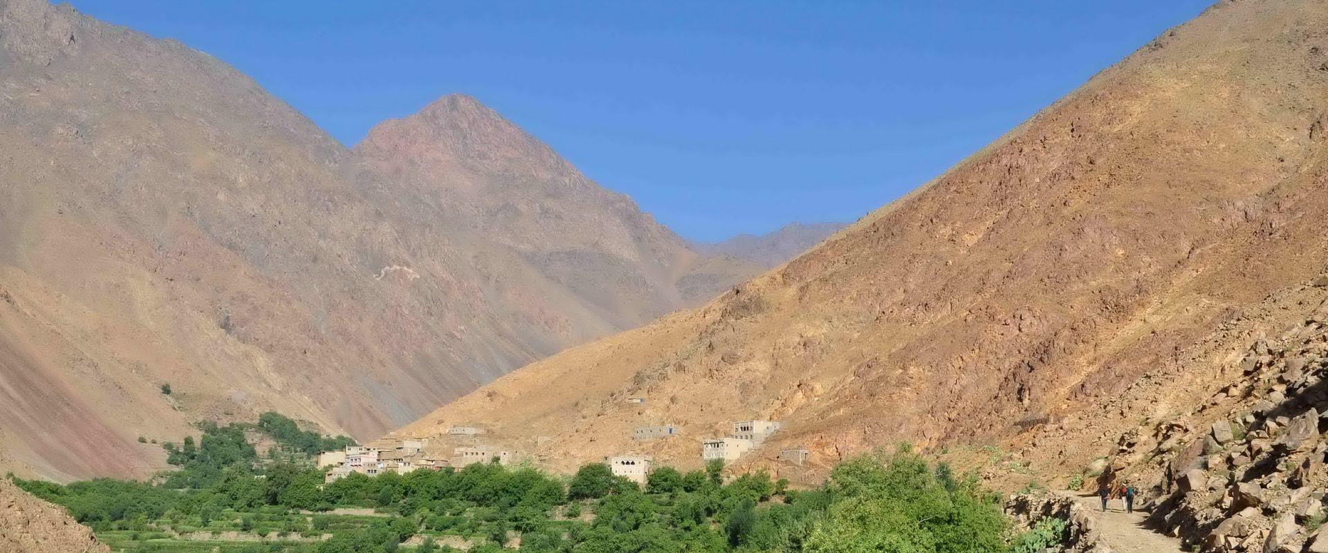 Voyages Expeditions Maroc - villages berberes - vallee d'azzaden