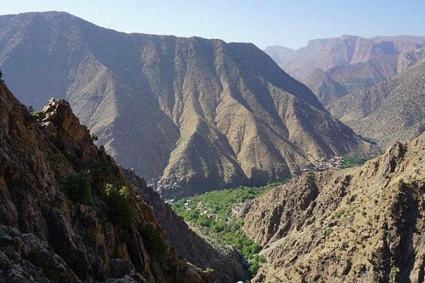 Excursion vallee d'Imlil en famille 01