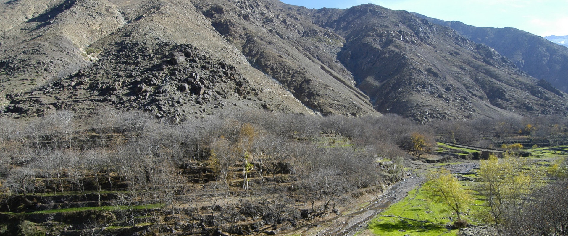 Voyages Expeditions Maroc - excursion vallee d'imlil en famille