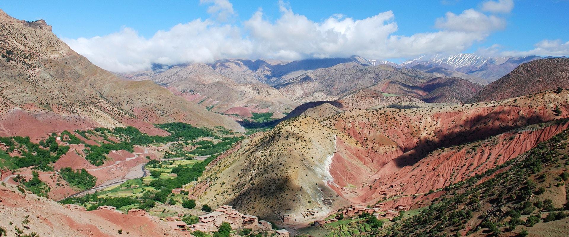 Voyages Expeditions Maroc - sejour en famille dans le haut atlas