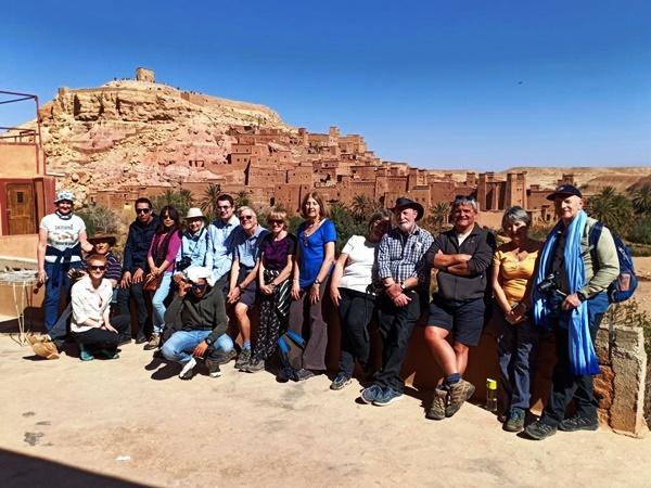 Le village dAit benhaddou   Voyage Maroc sur mesure   Voyage au Maroc   Vacances au Maroc sur mesure   Trek au Maroc   circuit de velo au maroc   randonnée et voyage   Trekking   VTT   Randonnées & Treks au Maroc montagne désert