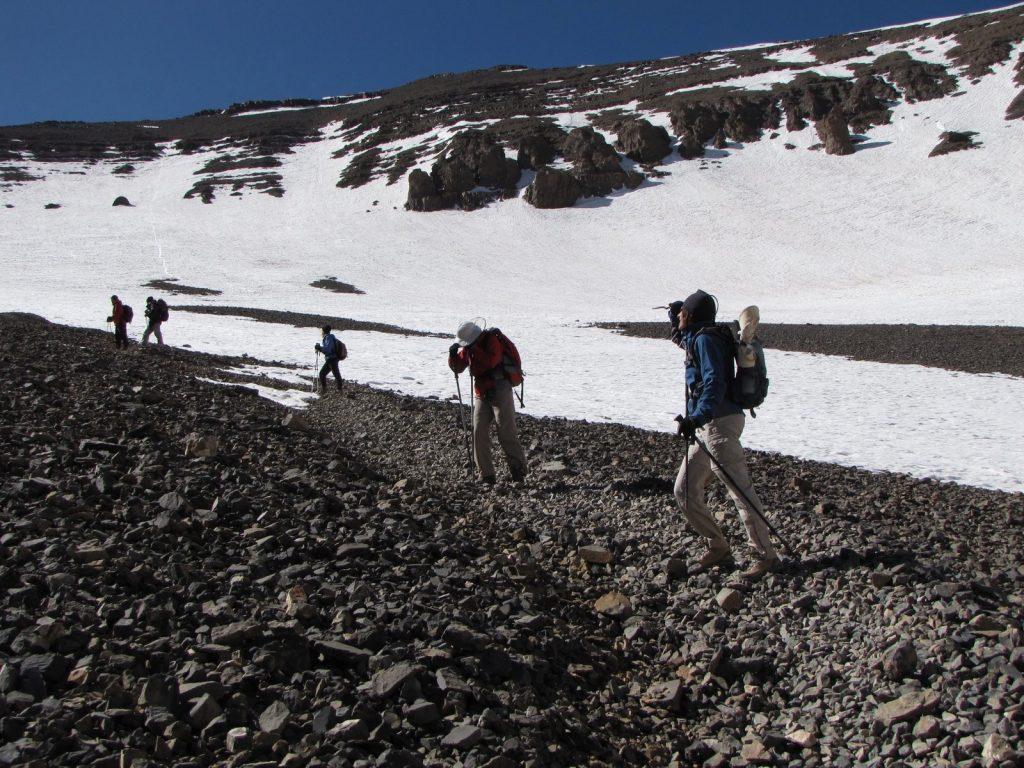 Mgoun summit ascent trek   Voyage Maroc sur mesure   Voyage au Maroc   Vacances au Maroc sur mesure   Trek au Maroc   circuit de velo au maroc   randonnée et voyage   Trekking   VTT   Randonnées & Treks au Maroc montagne désert