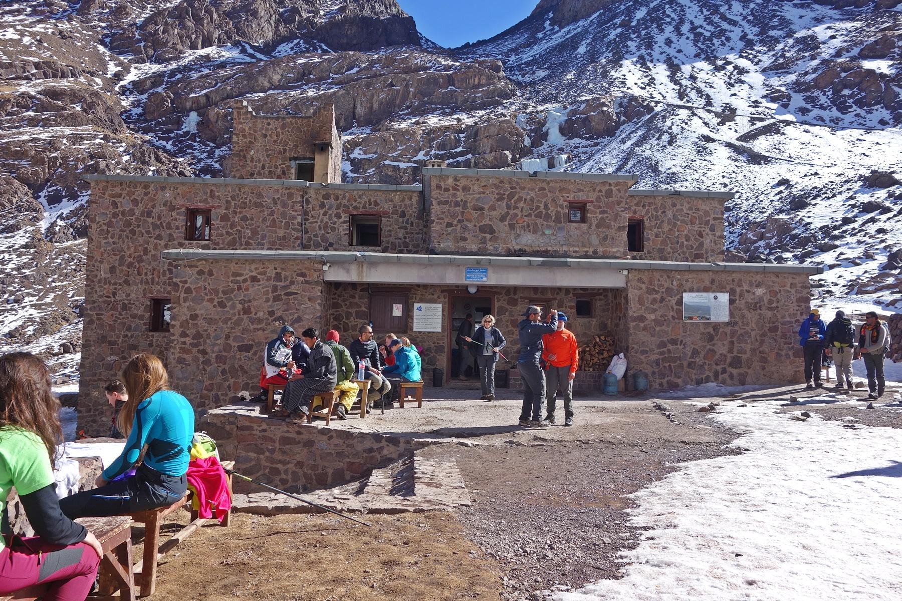Toubkal Refuge | Voyage Maroc sur mesure | Voyage au Maroc | Vacances au Maroc sur mesure | Trek au Maroc | circuit de velo au maroc | randonnée et voyage | Trekking | VTT | Randonnées & Treks au Maroc montagne désert