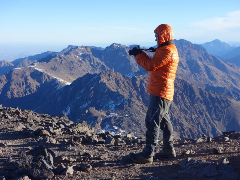 Trekking in Morocco - Toubkal ascent