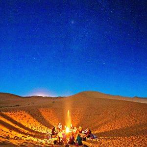 Le desert sous les etoiles