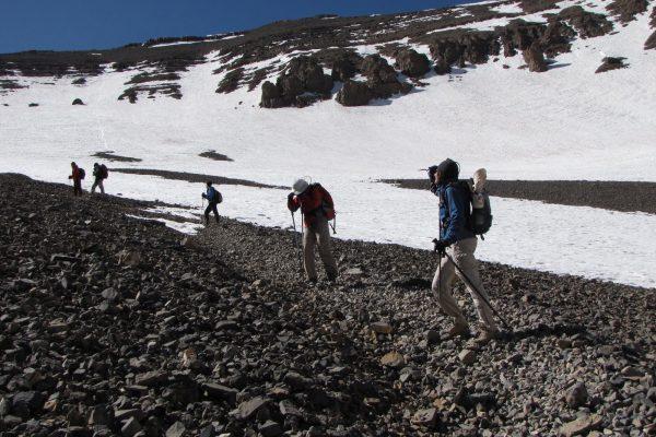 Mgoun summit ascent trek