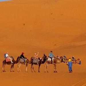 le desert de Merzouga