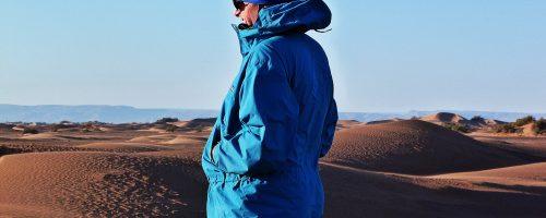 le desert du sahara marocain bivouac trek