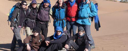 le désert du sahara marocain camel trek