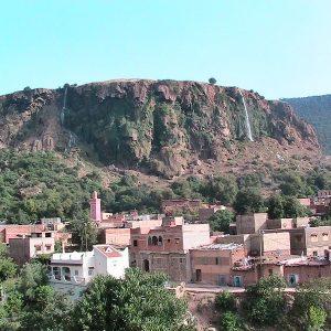 moyen atlas village berberes